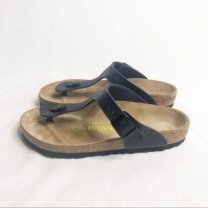 Birkenstock Gizeh Sandal Navy Blue Size 38